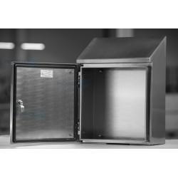 Skrzynka kwasoodporna AISI 316L  CHB 300x400x210mm