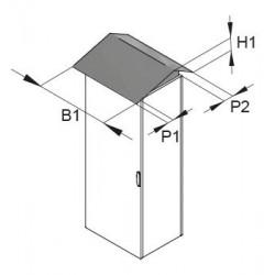 Daszek przeciwdeszczowy do FCB 1600x500mm